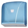 """KATLI"" PAPIERHANDTUCHSPENDER (Transparent-Blau) - 1"
