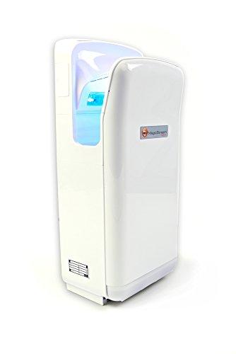 Magic Stream elektrischer Händetrockner für trockene Hände in 5-7 Sekunden, 1.900 Watt, berührungslos mit Sensor - 1