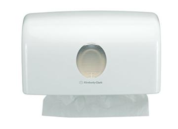 AQUARIUS 6956 Spender für gefaltete Handtücher, Hochglanzoberfläche - 1